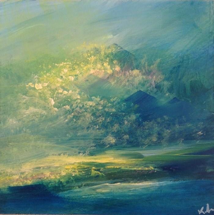 """Prelude"" original fine art by David Kuhn"