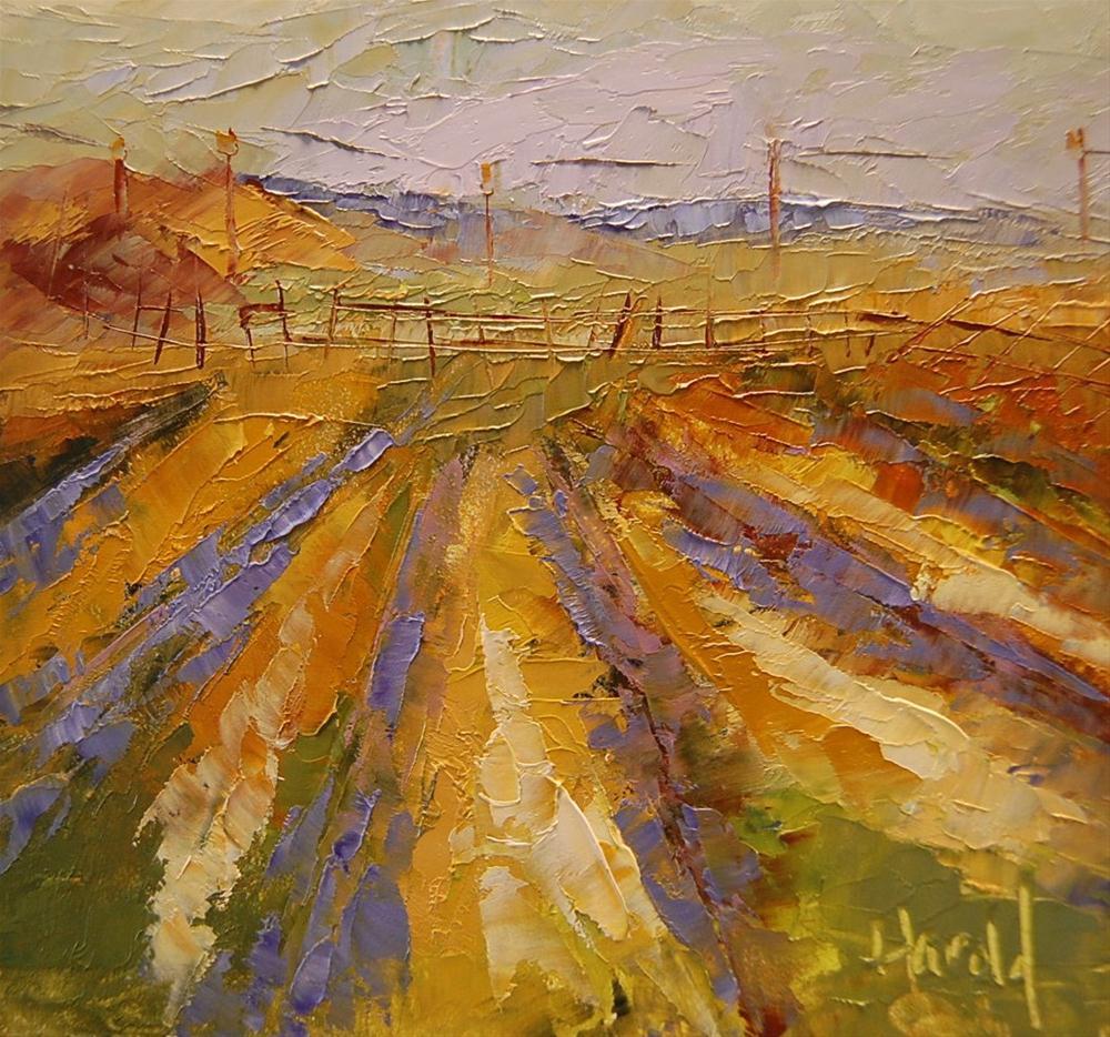 """Harvest"" original fine art by Deborah Harold"