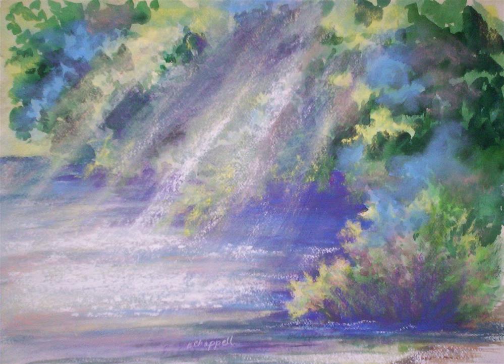 """""""Filtered Light"""" original fine art by Becky Chappell"""