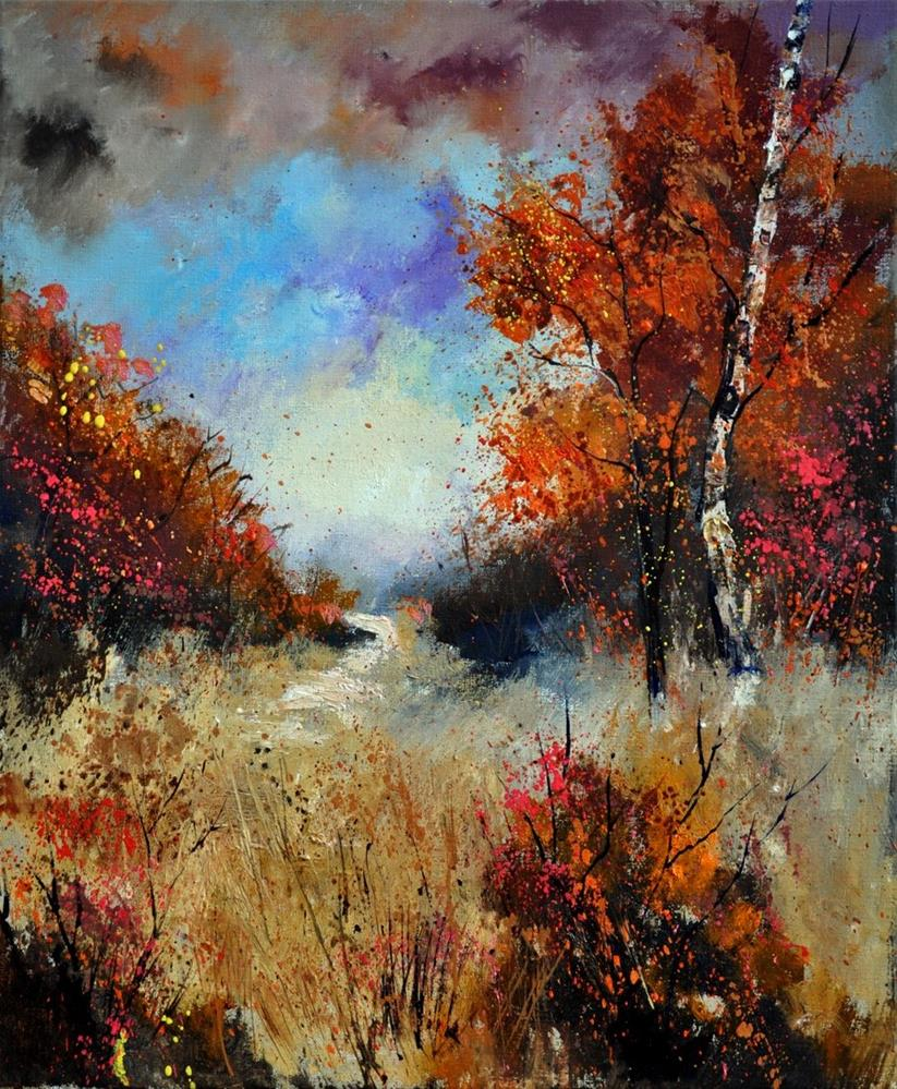 """autumn 5641"" original fine art by Pol Ledent"