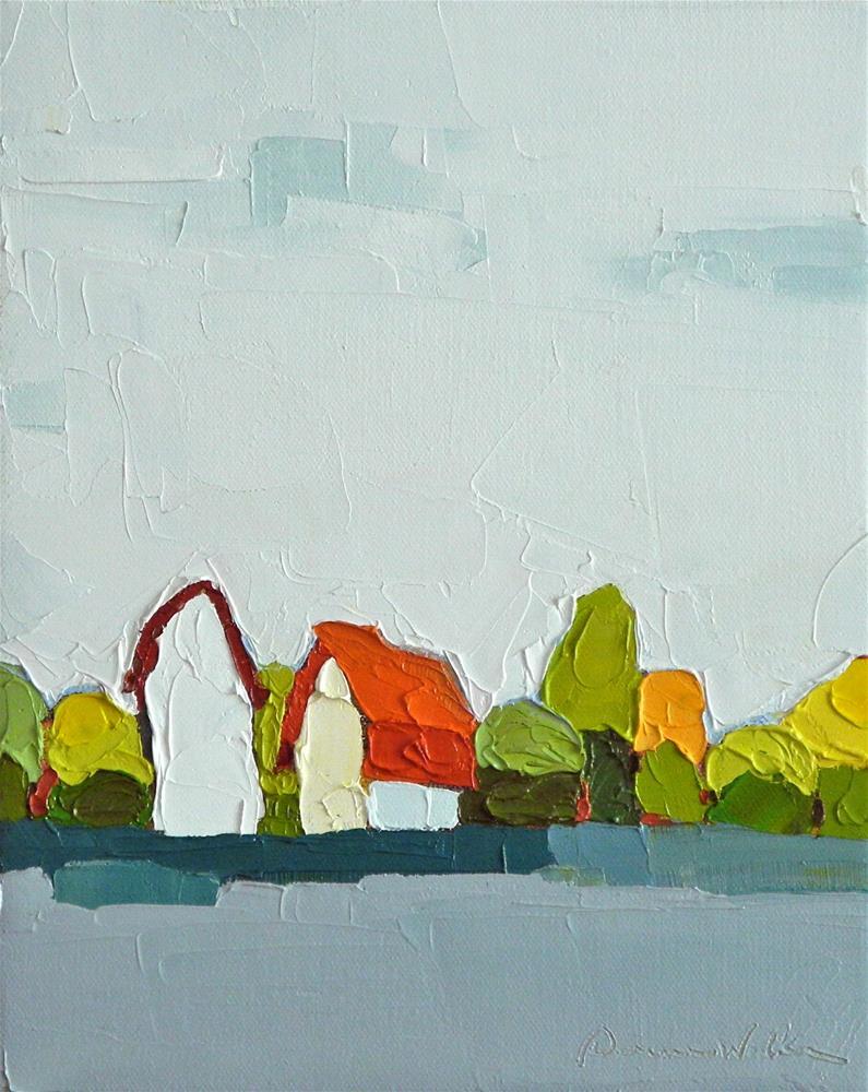 """Nearby"" original fine art by Donna Walker"