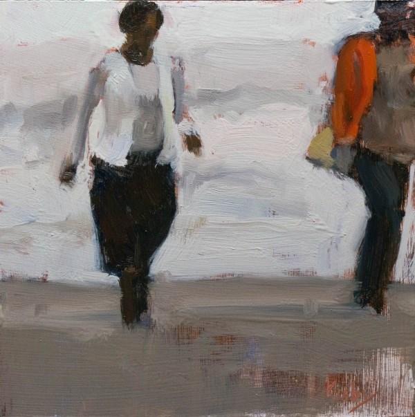 """A Stroll"" original fine art by Randall Cogburn"