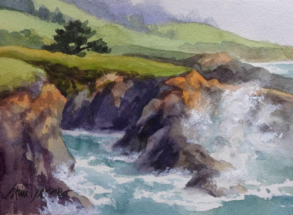"""Wild Watercolor"" original fine art by Erin Dertner"