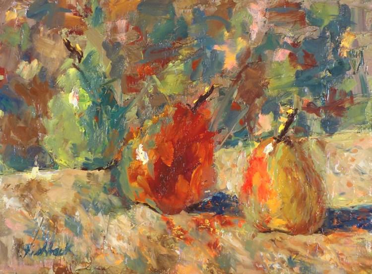 """""""CW Pear Study"""" original fine art by Daniel Fishback"""
