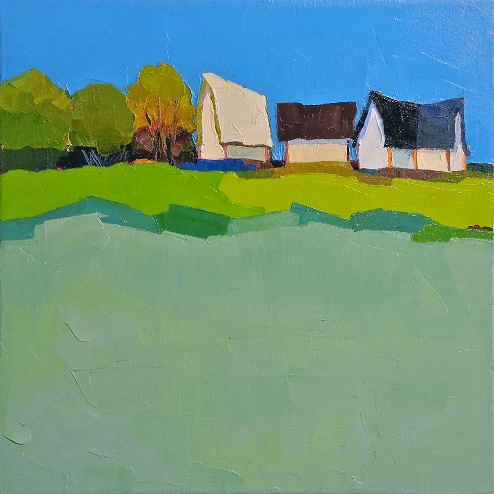 """Rural Suite"" original fine art by Donna Walker"