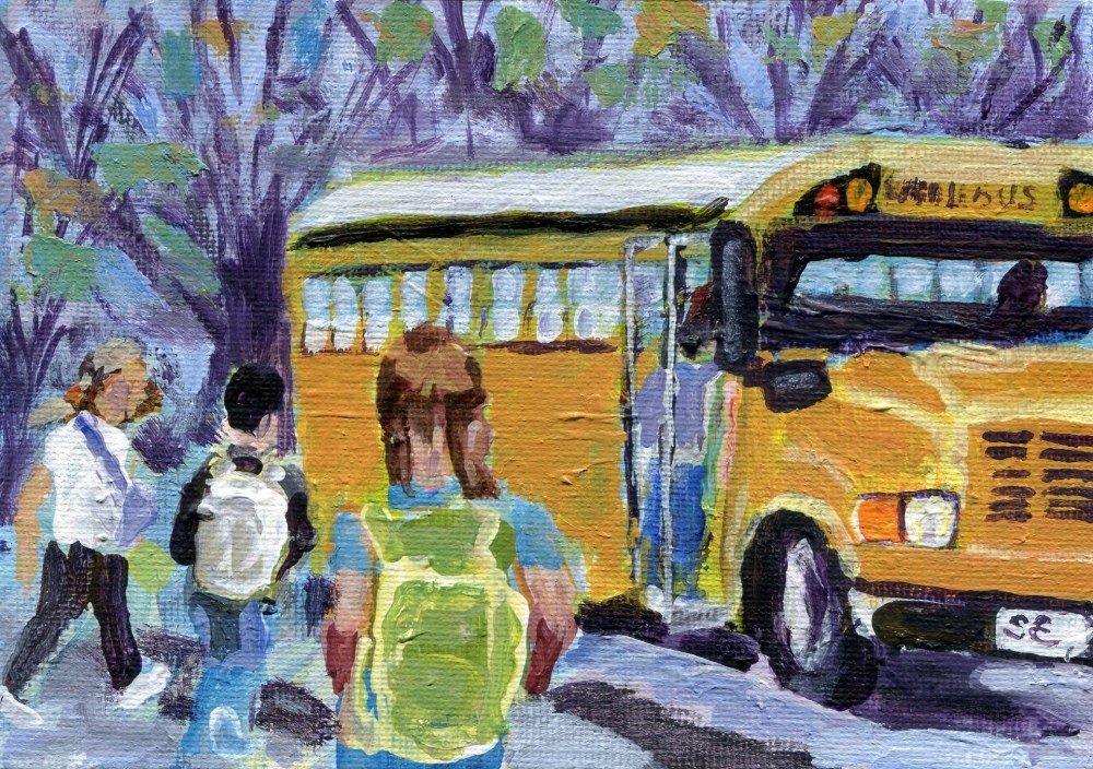 """Fall Memories"" original fine art by Stanley Epperson"