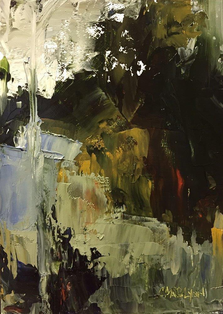 """""""Forest Impressions"""" original fine art by Carolynn Doan"""