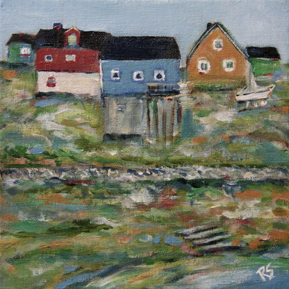 """The Colors of Greenland"" original fine art by Roberta Schmidt"