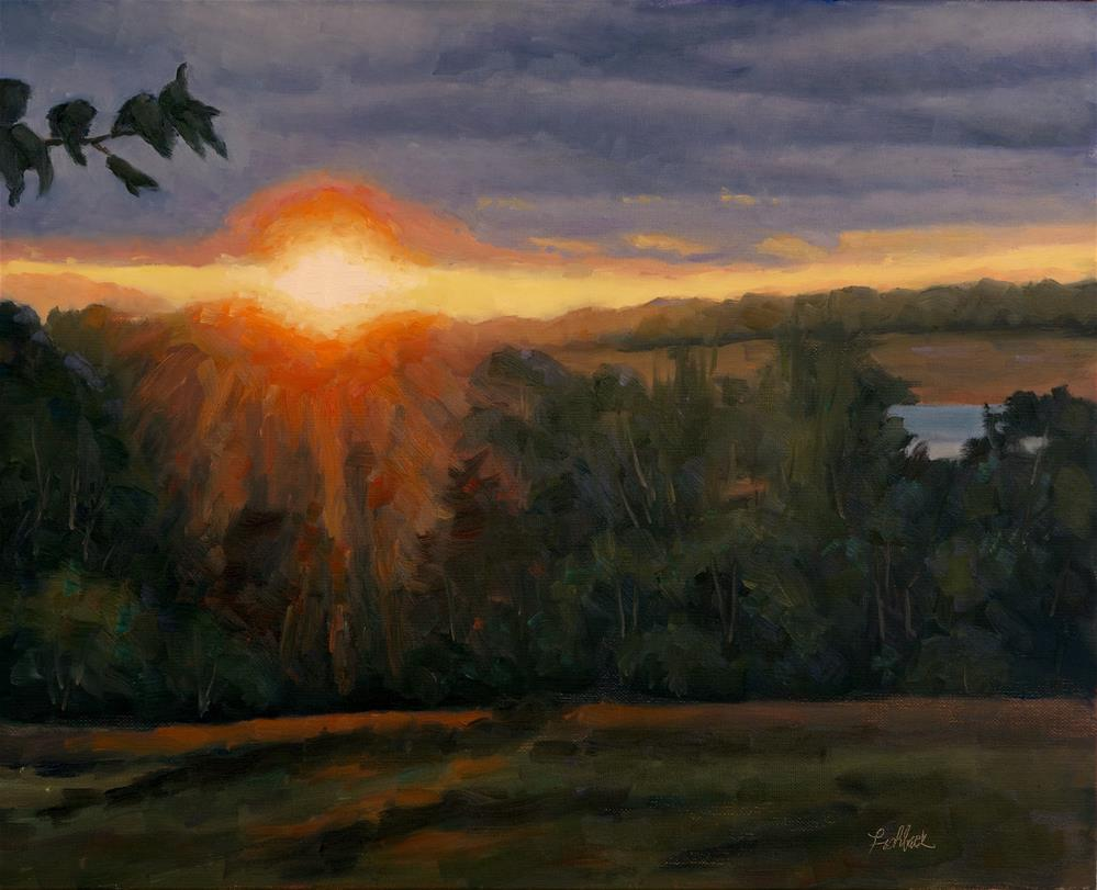 """Forgotten Sunset"" original fine art by Daniel Fishback"