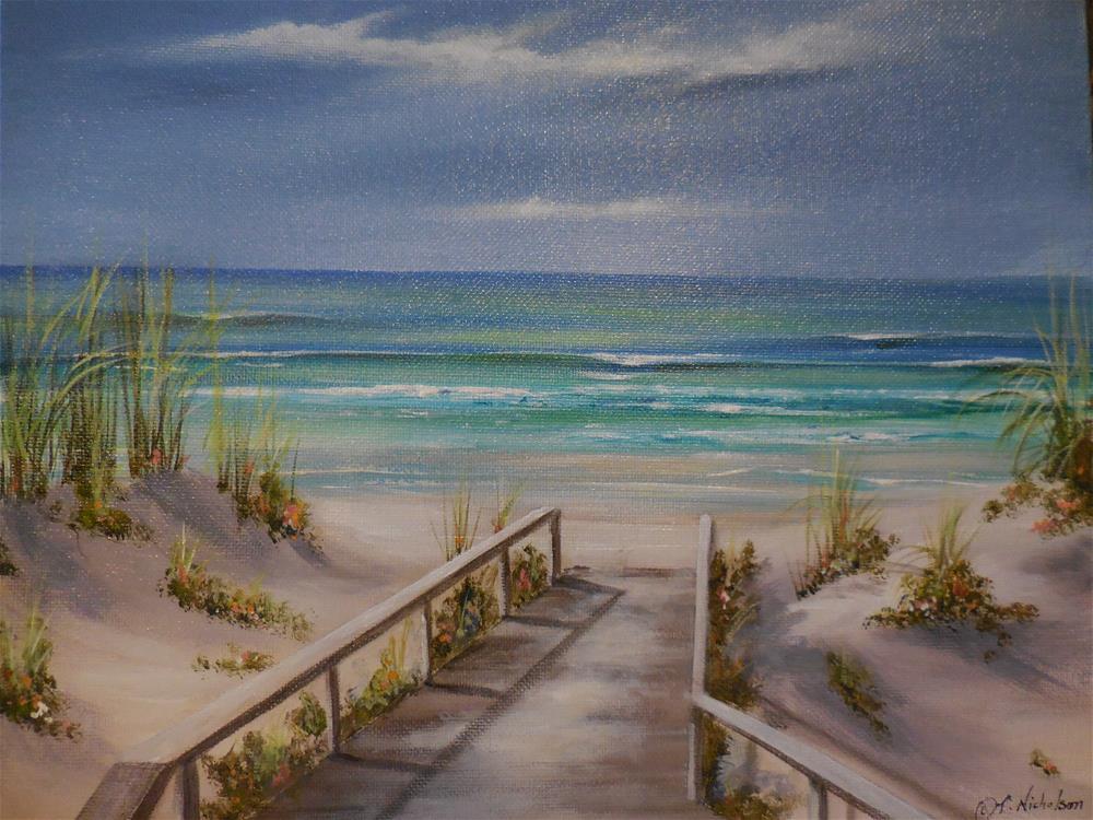 """Approaching Storm"" original fine art by Terri Nicholson"