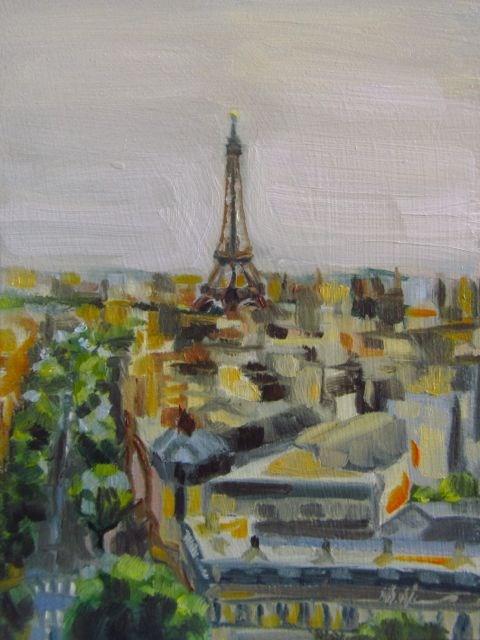 """Solidarité"" original fine art by Mb Warner"