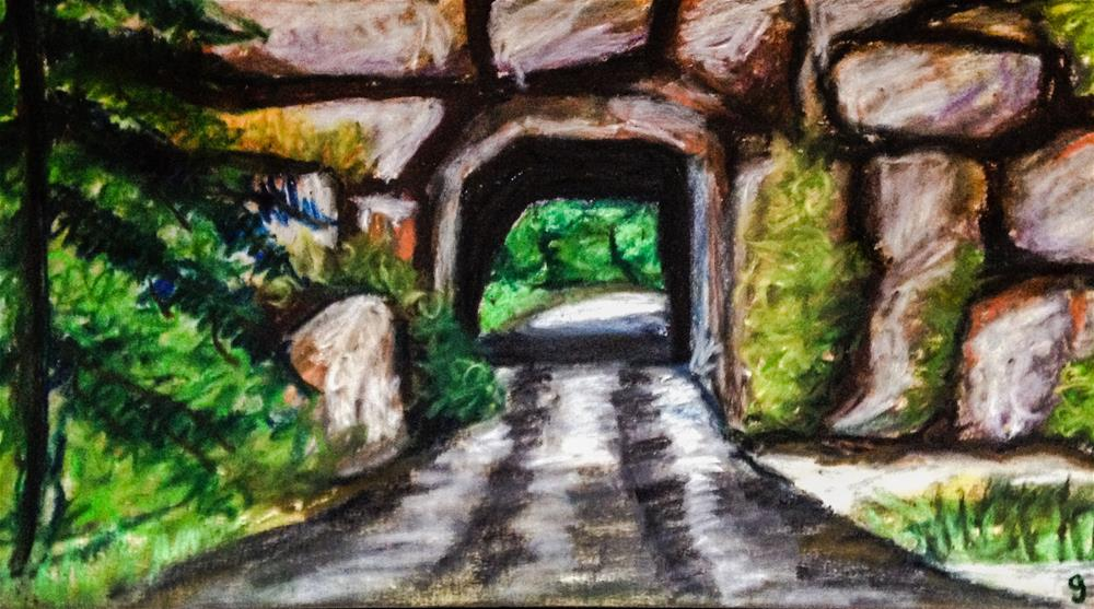 """Needles Highway 4, South Dakota"" original fine art by Giovanni Antunez"
