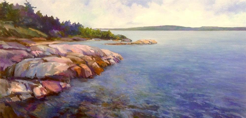 """A Beautiful Day for Boating"" original fine art by Cathy Boyd"