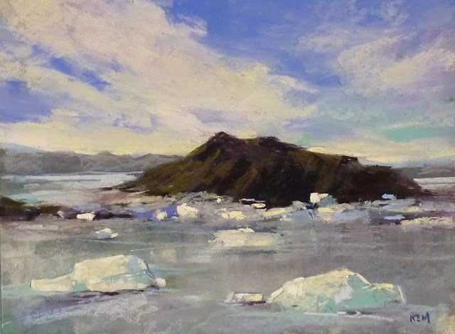 """""""Where in the World Will You Paint this Year?"""" original fine art by Karen Margulis"""