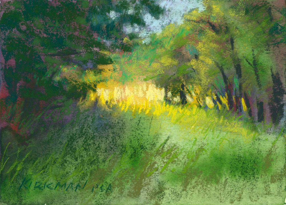 """Park Trail #15"" original fine art by Rita Kirkman"