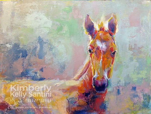 """Available Paintings"" original fine art by Kimberly Santini"