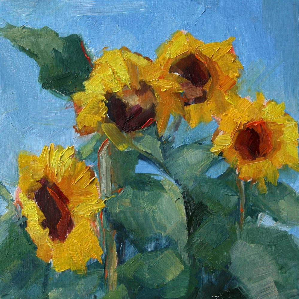 """Sunny"" original fine art by Carol Josefiak"