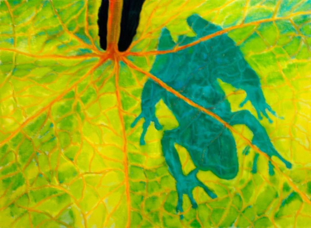 """Being Shadowed"" original fine art by Jill Bates"