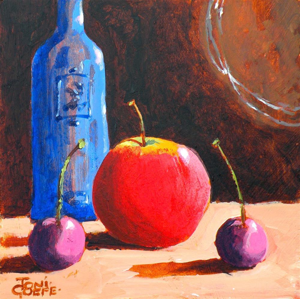 """On Guard"" original fine art by Toni Goffe"