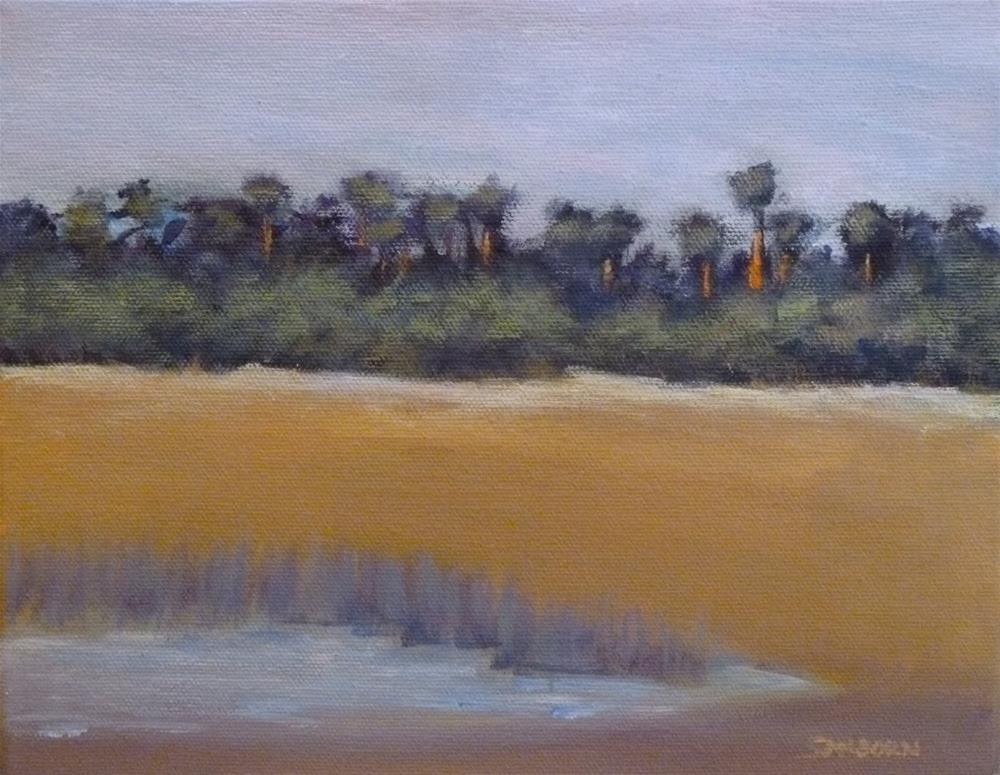 """""""Pond"""" original fine art by Jo-Ann Sanborn"""