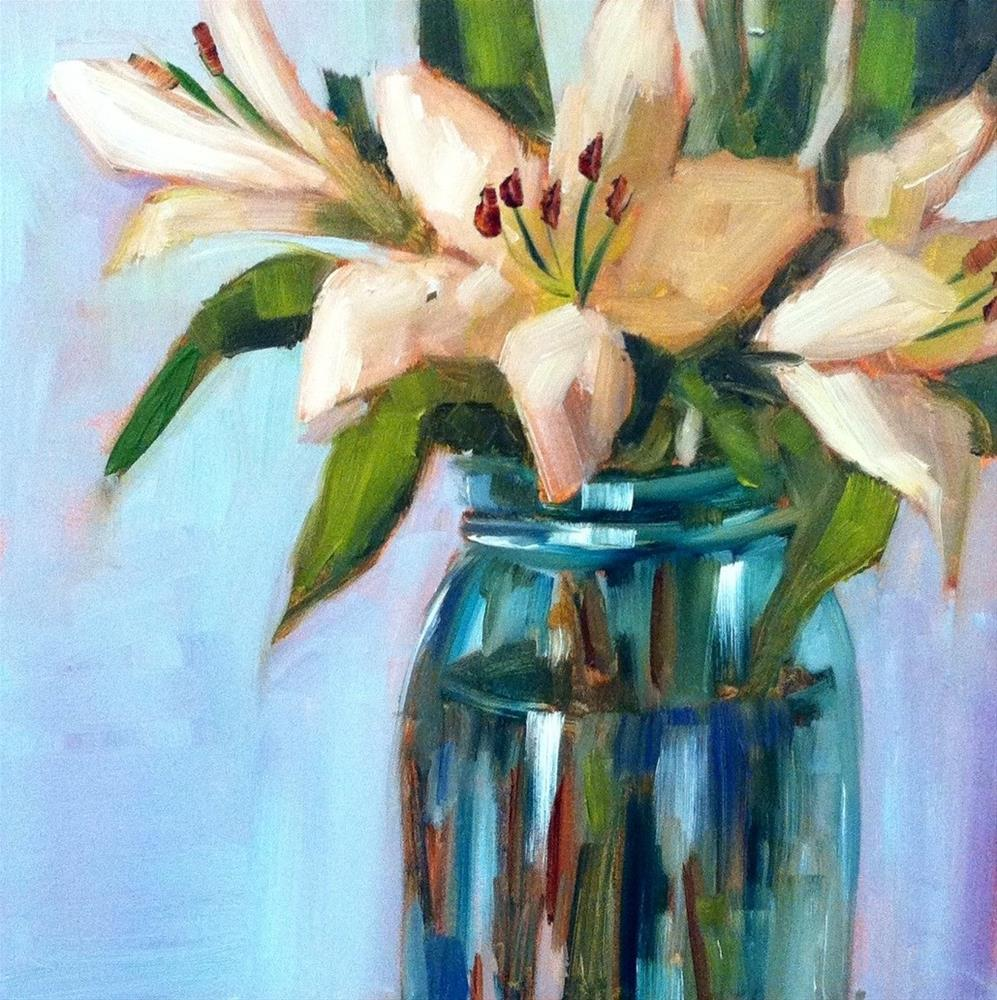 """Lily Number Three"" original fine art by Libby Anderson"