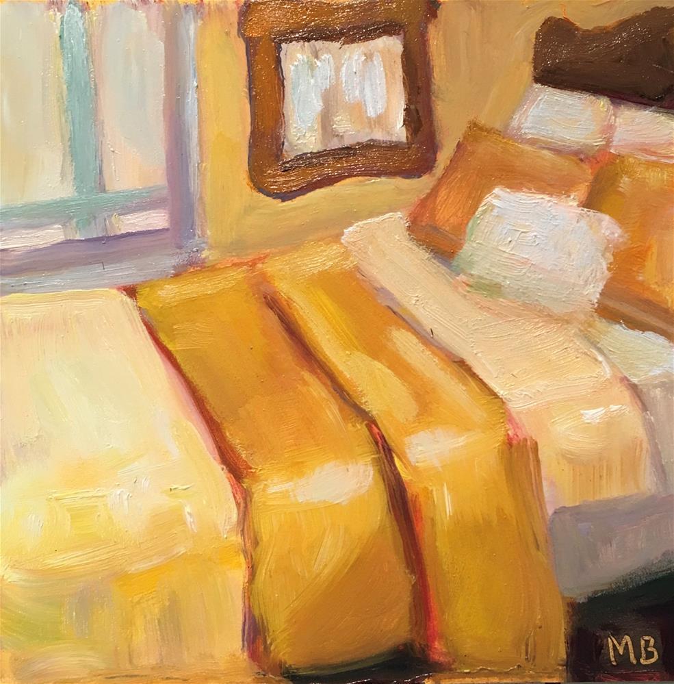 """""""The Golden Room"""" original fine art by Marcia Bergtholdt"""