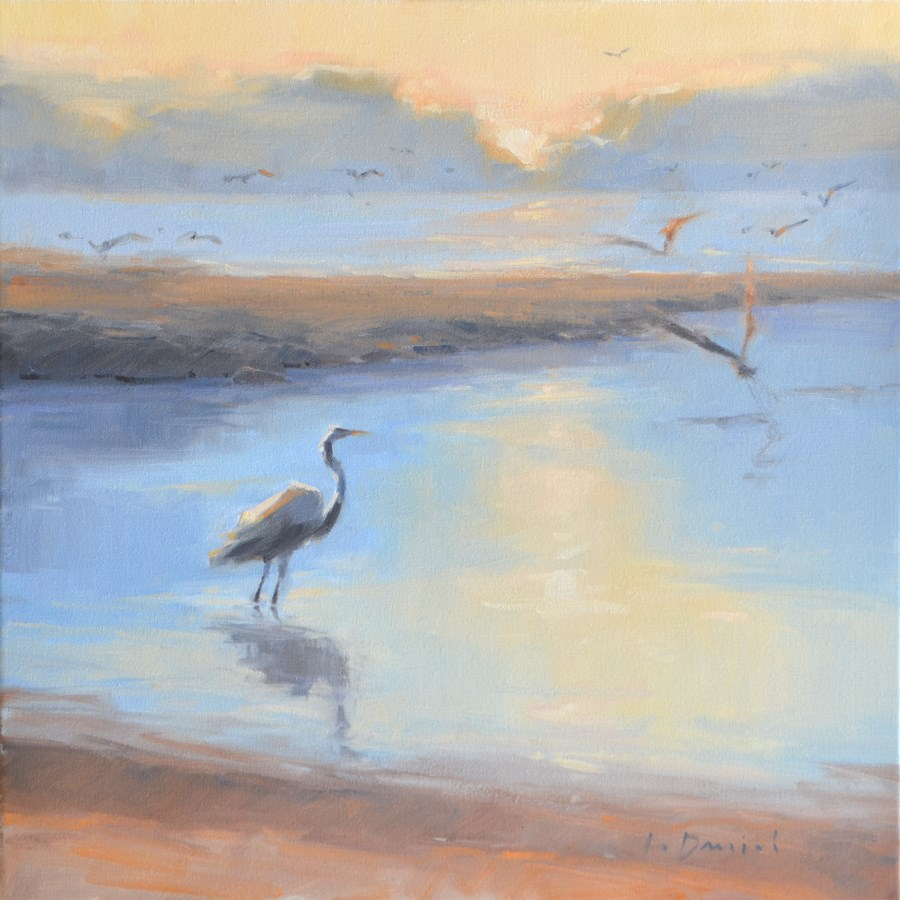 """Morning Pause"" original fine art by Laurel Daniel"