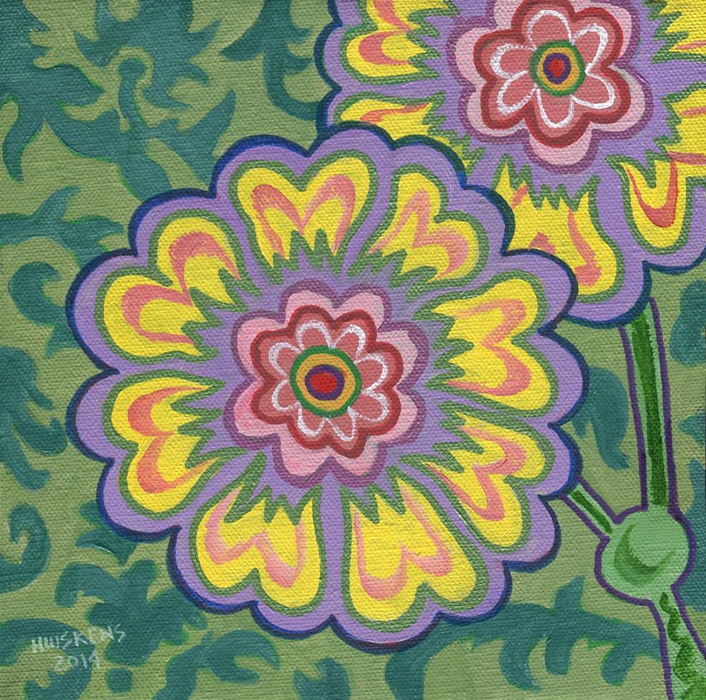 """Flower No. 7"" original fine art by Randal Huiskens"