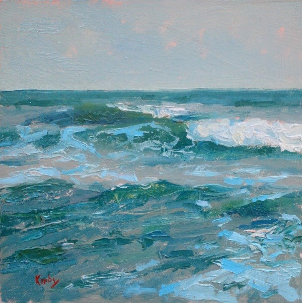 """Ever Changing Sea"" original fine art by Randall Cogburn"