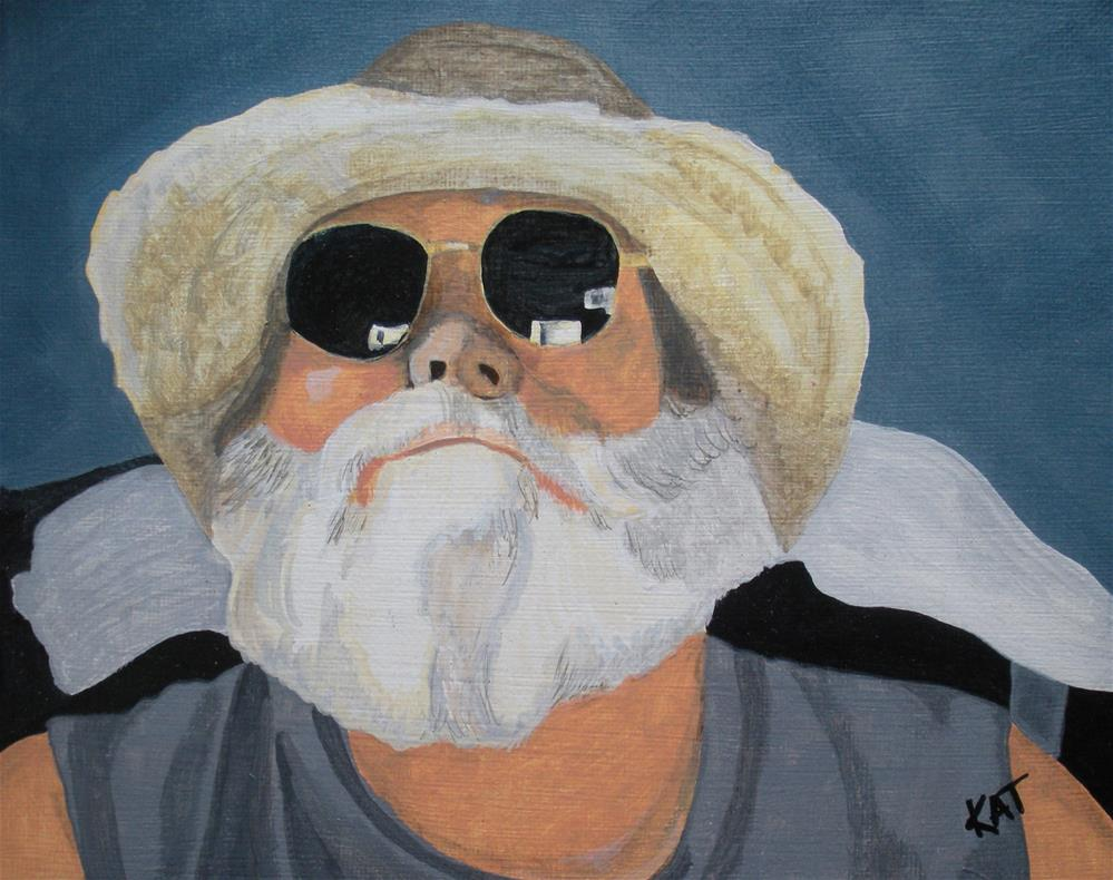 """Bruce"" original fine art by Kathleen Carrier"