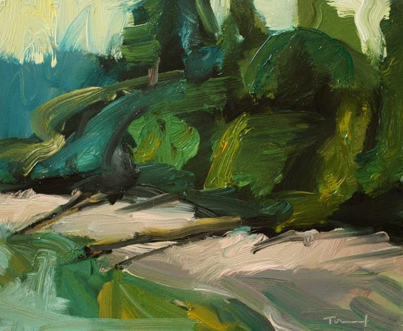 Zangle Cove original fine art by Kathryn Townsend