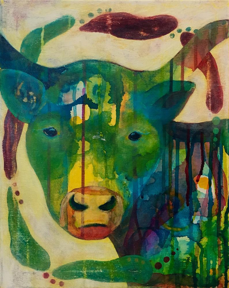 """""""Gentle Eyes"""" original fine art by Silke Powers"""