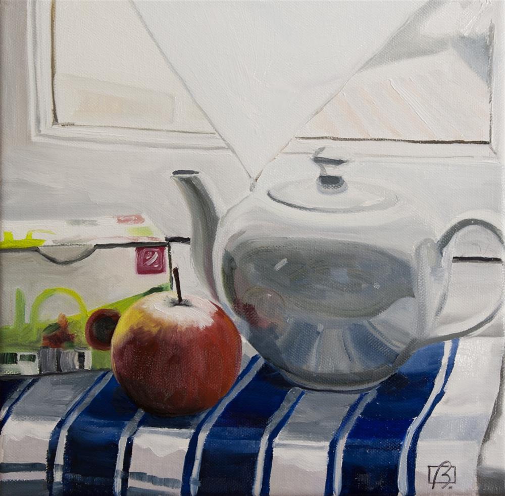 """""""An Apple A Day"""" original fine art by Andre Beaulieu"""