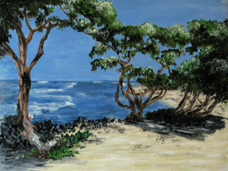 """Maui"" original fine art by Nan Johnson"