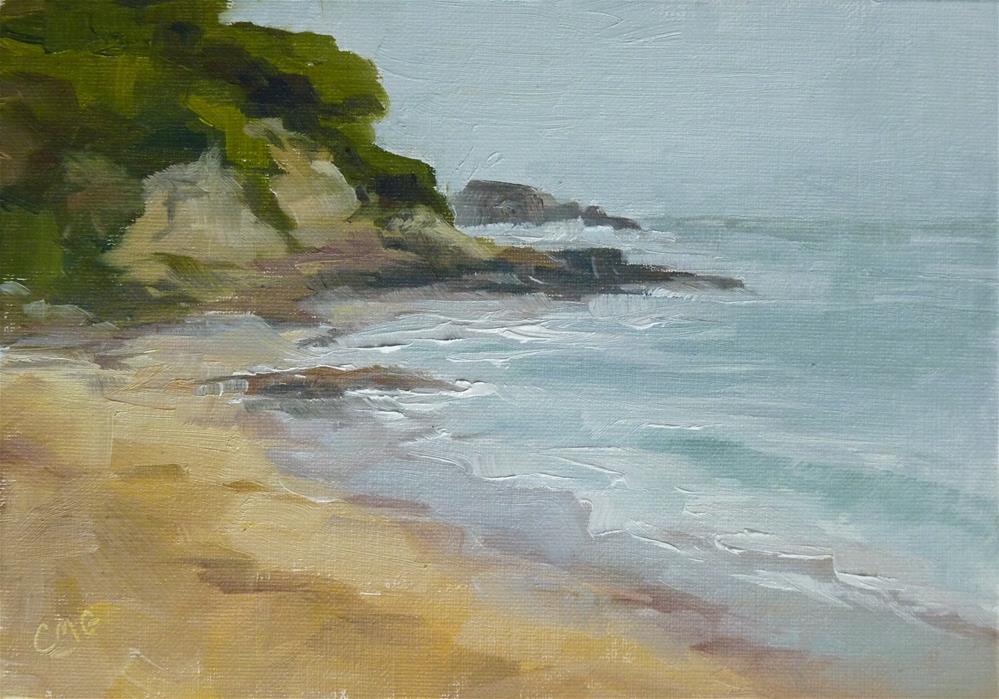 """Little Corona Cove"" original fine art by Cindy Greene"