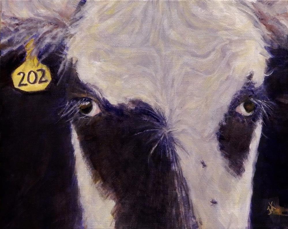 """""""Numbered"""" original fine art by J Kelsey"""