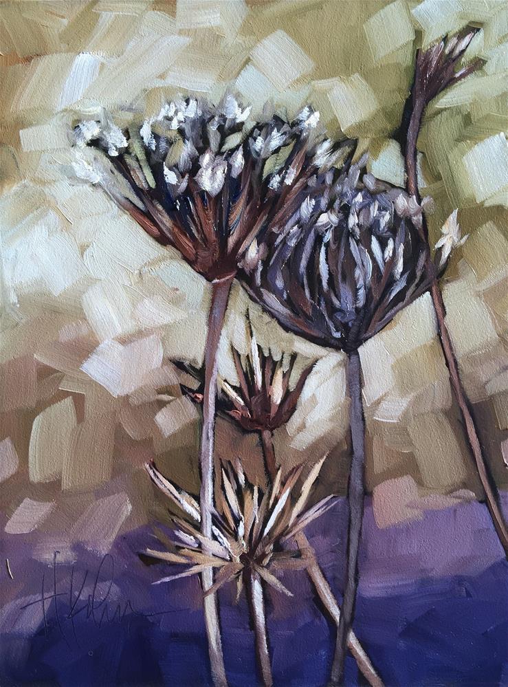 """""""Queen Anne's Heirs"""" original fine art by Hallie Kohn"""