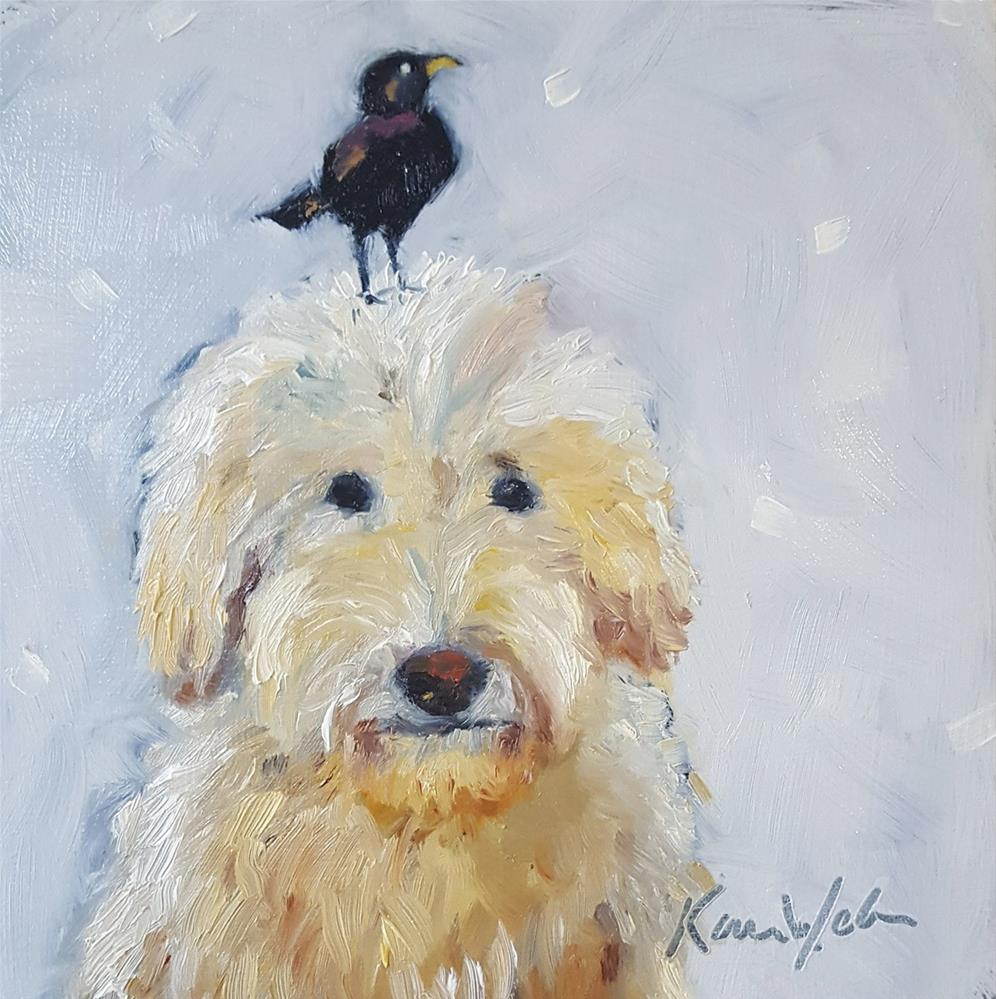 """Sam & Pete"" original fine art by Karen Weber"