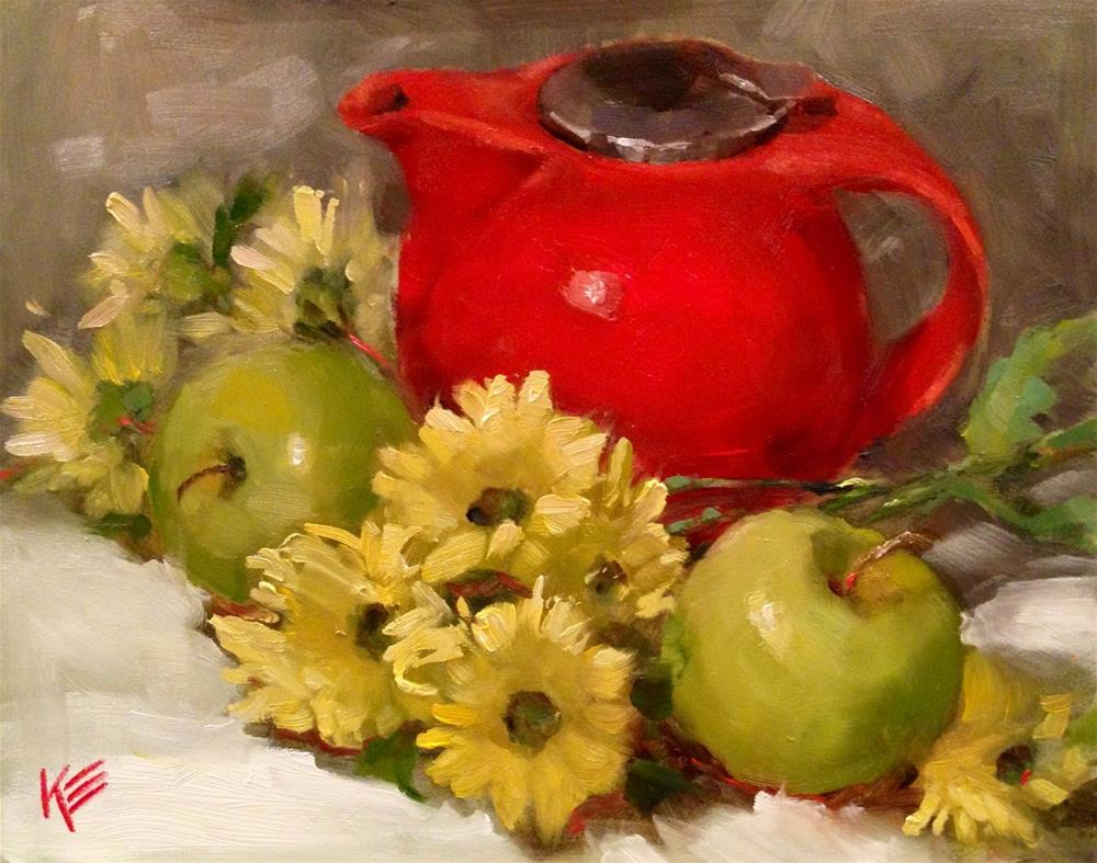 """Rouge"" original fine art by Krista Eaton"