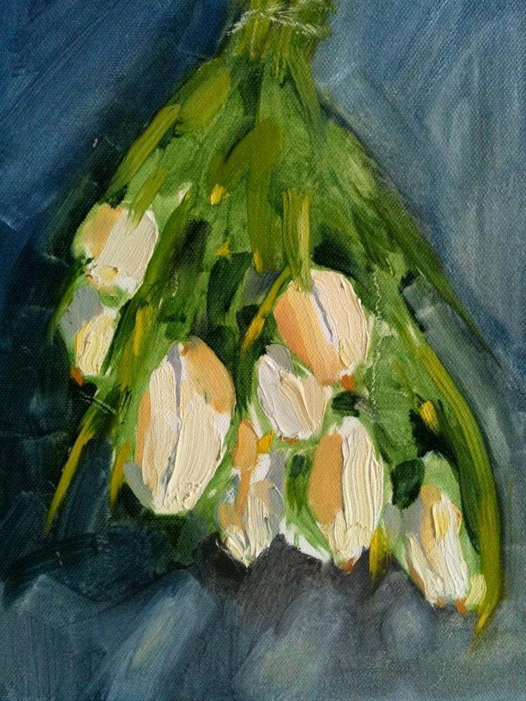 """Fresh Tulips"" original fine art by Carole A. Ball"