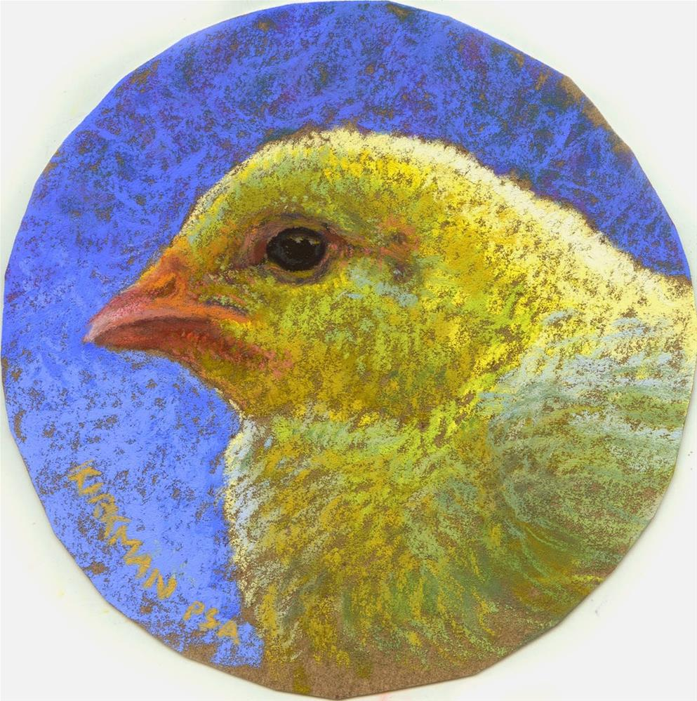 """Chick Profile #1"" original fine art by Rita Kirkman"