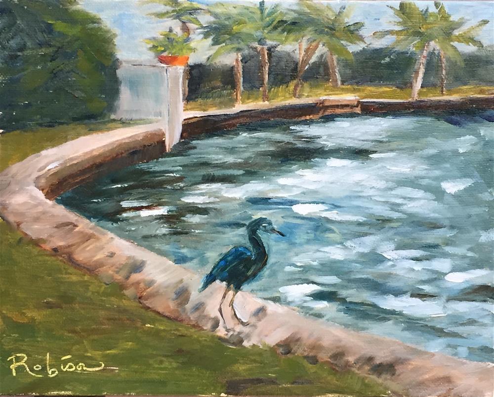 """Colee Hammock Park"" original fine art by Renee Robison"