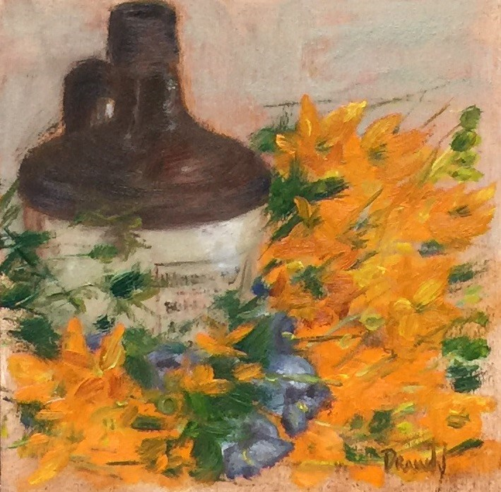 """Confectioners Jug"" original fine art by Stephanie Drawdy"
