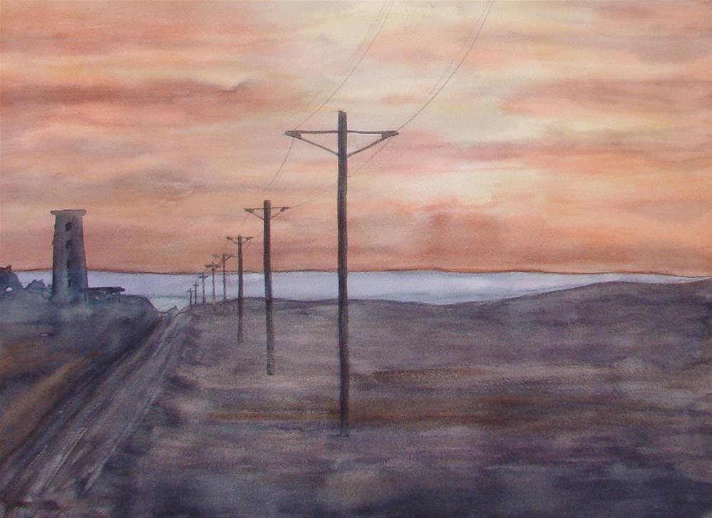 """""""Monterey II"""" original fine art by Vito Cagnazzo"""