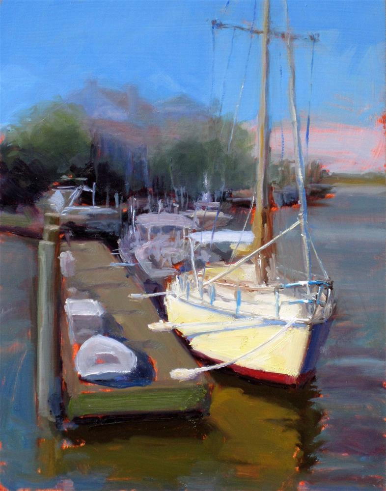 """Shem Creek"" original fine art by Dan Graziano"