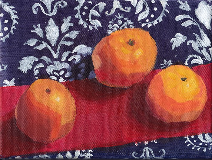 """Clementines: Premiere"" original fine art by J M Needham"
