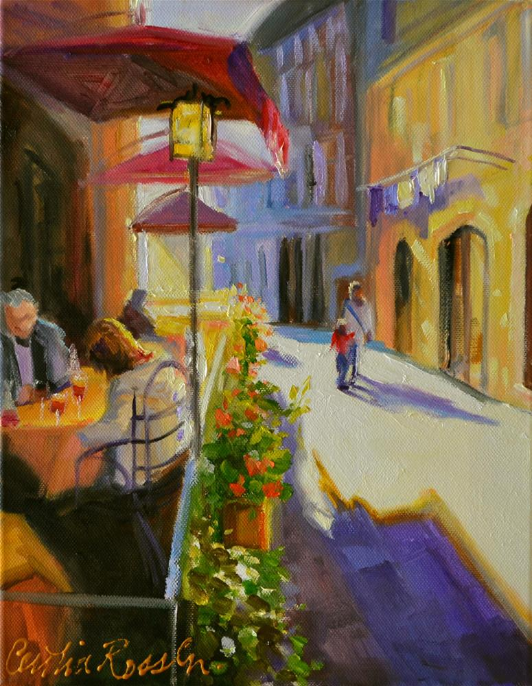 """TUSCANY"" original fine art by Cecilia Rosslee"