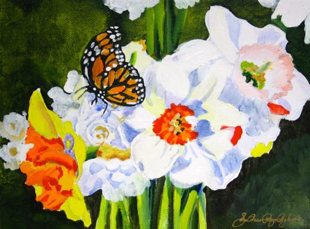 """""""Arriving Soon"""" original fine art by JoAnne Perez Robinson"""