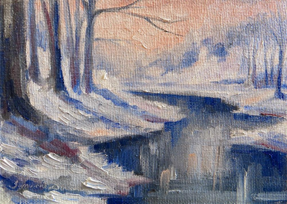 """December Morning"" original fine art by Tammie Dickerson"