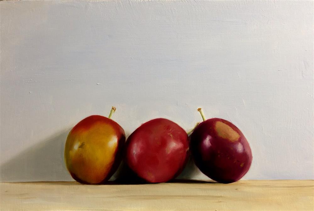 """""""Plums"""" original fine art by James Coates"""